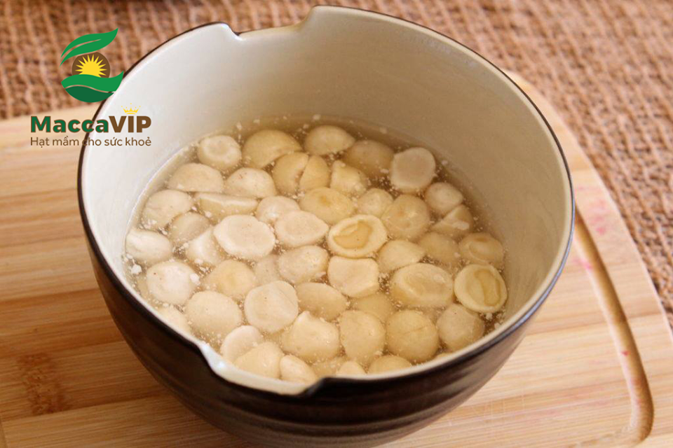 Hướng dẫn cách chế biến hạt Macca cho bé ăn dặm | Macca VIP